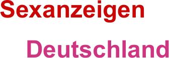Sexanzeigen in Deutschland